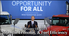 Jobs, the Economy, and Fuel Efficiency