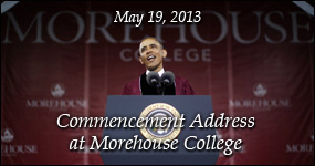 Morehouse Commencement Address